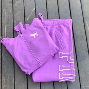 Pink By VS Sweats & Sweatshirt